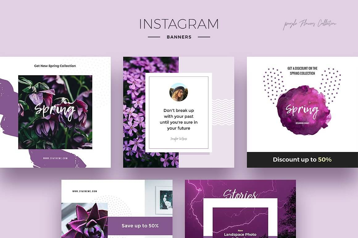 Instagram Designs - Social Media Graphics - London Creative Designs Inspiration