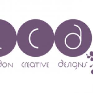 London Creative Designs Logo Purple on White - Top Company Branding Agency in London