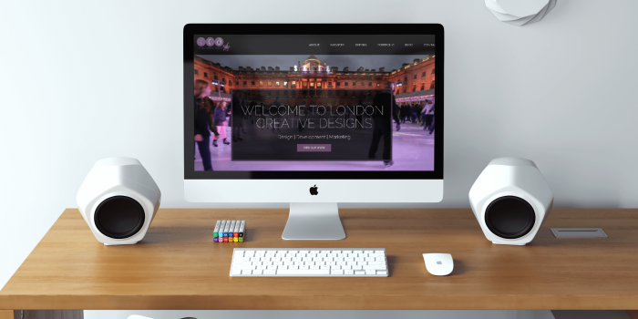 London Creative Designs' new website - top digital agency in London