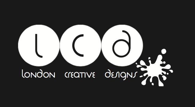 London Creative Designs White on Black - Top Company Branding Agency in London