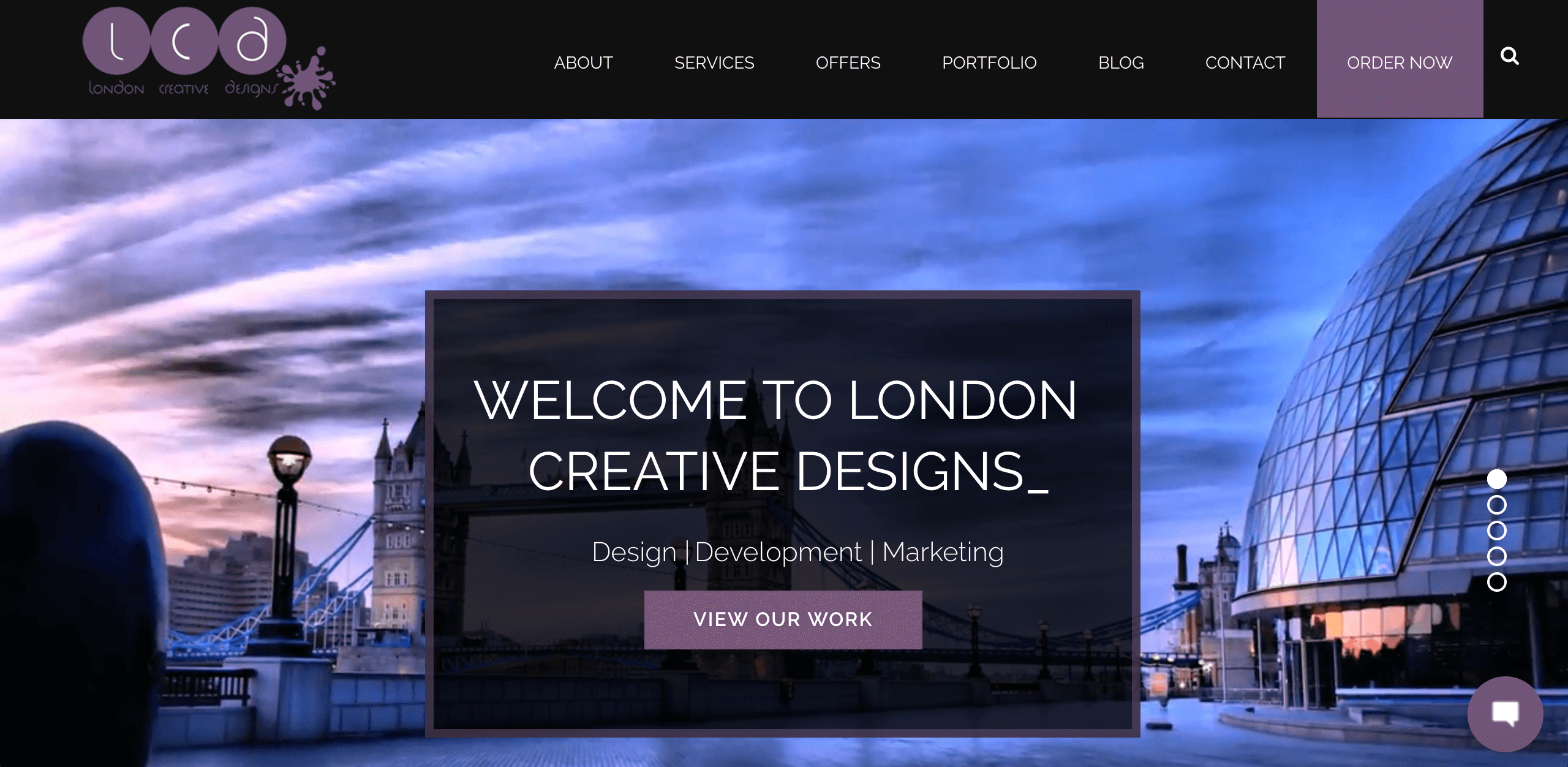 London Creative Designs Website - Top Digital Agency in London
