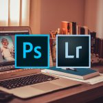 MacBook Air with Lightroom - Photoshop v Lightroom by London Creative Designs