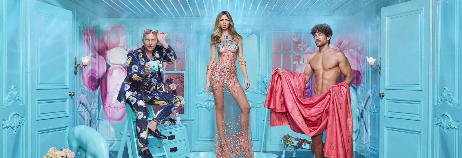 Britain's Next Top Model - BNTM, London Creative Designs Client