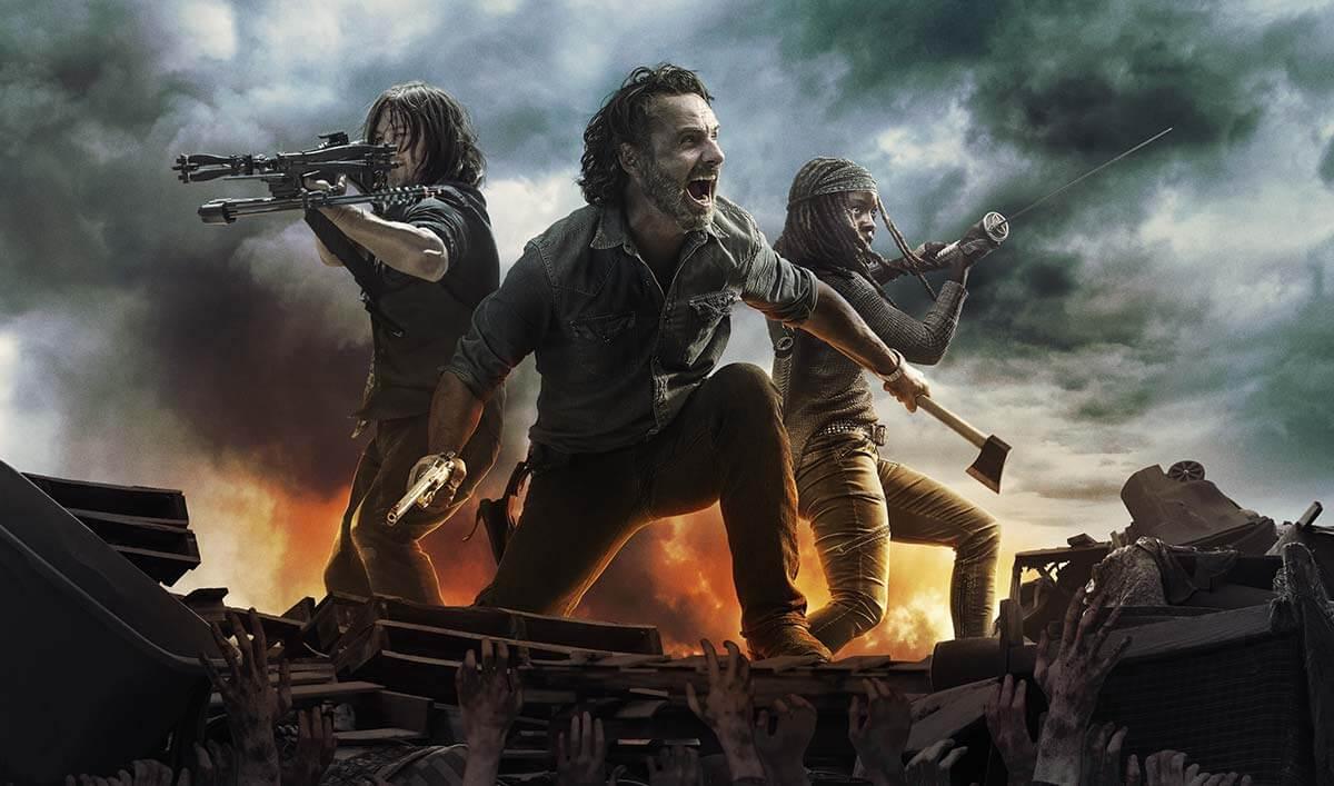 The Walking Dead TV Show - AMC, Client of London Creative Designs