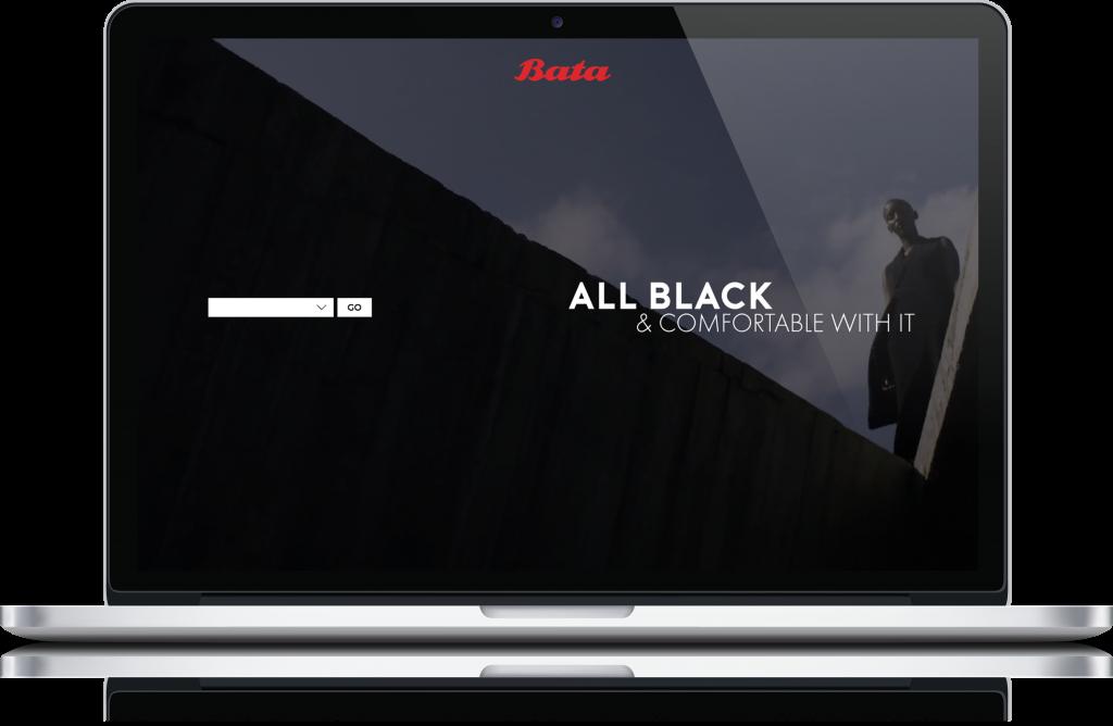 Bata ecommerce website design by London Creative Designs, digital agency London