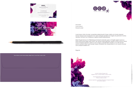 Business Stationery Design by London Creative Designs - Top Digital Agency in London