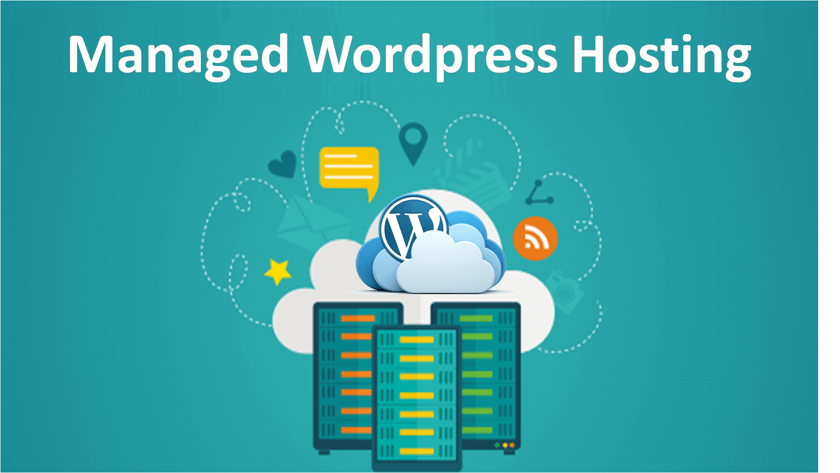 Managed WordPress Hosting Graphic by London Creative Designs, Wordpress agency London